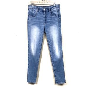 American eagle high rise jeggings 12 long jeans